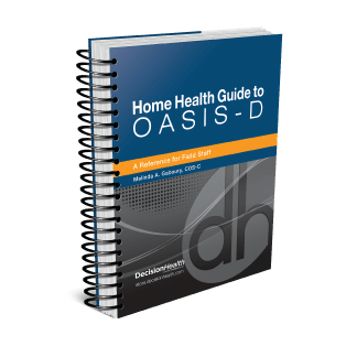 Book graphic for Oasis-D Home Health Guide
